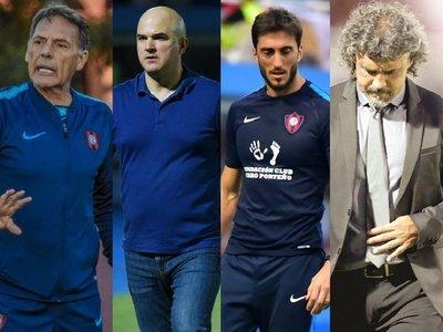 Los últimos cuatro técnicos de Cerro Porteño
