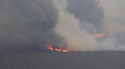 HOY / Focos de incendio se trasladan a frontera con Bolivia: 200 personas combaten el fuego
