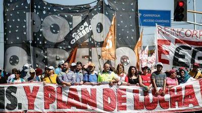 La campaña electoral argentina se calienta con múltiples protestas