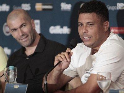 Ronaldo opinó acerca de Zidane como entrenador de Real Madrid