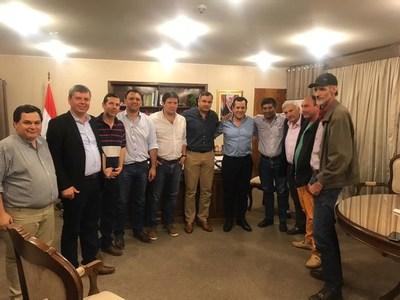 Primera reunión de autoridades y productores de Misiones con Rodolfo Friedmann