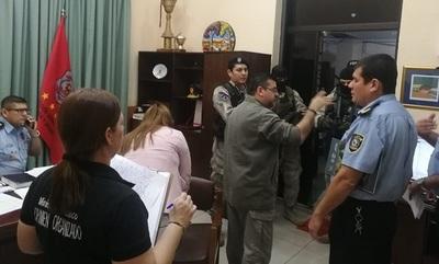 Imputan a los 10 jefes policiales vinculados a narcotráfico