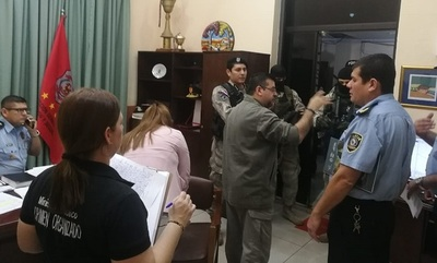 Imputan a jefes policiales vinculados a narcotráfico