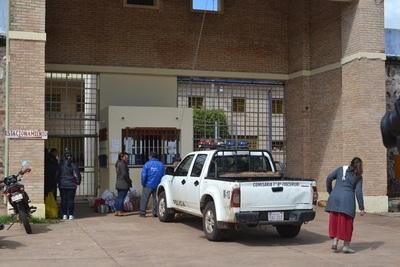 Reos intentan escapar de la cárcel de Concepción por falta de comida