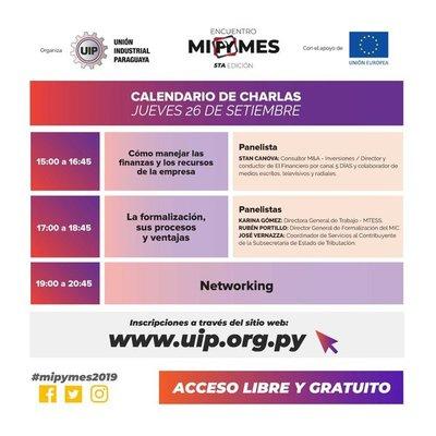 UIP organiza 5to encuentro de MiPYMES