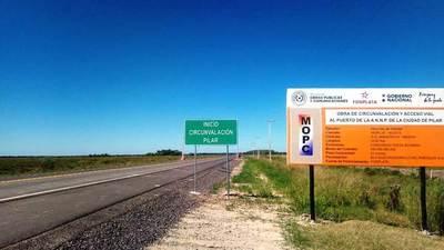 MOPC inaugura obras para optimizar el tránsito en Pilar