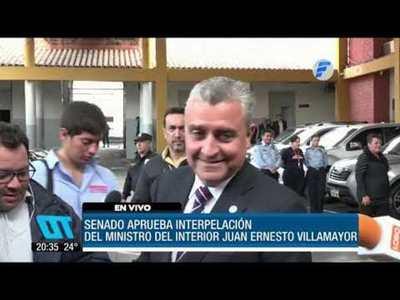 Aprueban interpelación al ministro Villamayor