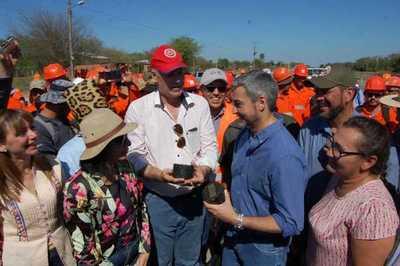 """Wiens: """"Carmelo Peralta será un nuevo polo de desarrollo en el Chaco"""""""