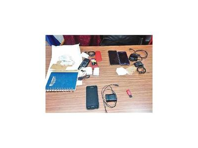 Incautan celulares de presos peligrosos en la Agrupación
