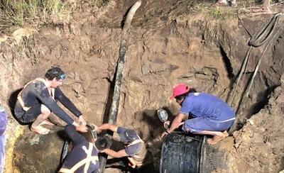 HOY / Casi un día sin agua en 12 barrios de Asunción