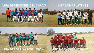 Liga Lomaplatense y Defensores del Chaco compiten por la clasificación
