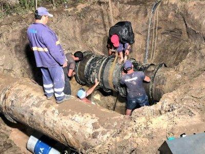Essap restablece servicio de agua potable en Asunción