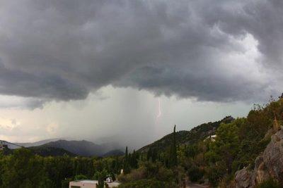 Lunes con lluvias y tormentas eléctricas, pronostica Meteorología