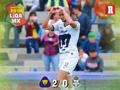 Carlos González vuelve anotar para Pumas