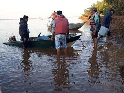 Ñeembucú: Buscan a hombre desaparecido en aguas del río Paraná