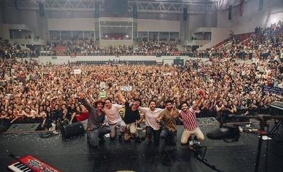 """HOY / Morat arrasó en el Arena SND: """"A Paraguay le debíamos un concierto desde hace años"""""""