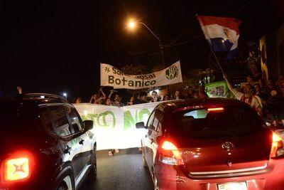 Bloqueos intermitentes en zona del Botánico en protesta contra obras