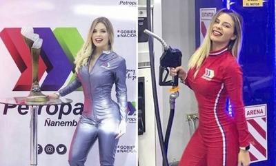 """HOY / Supuesta novia de """"Cucho"""" aparece como promotora de Petropar"""