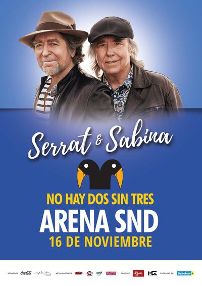Serrat y Sabina en show íntimo en Asunción