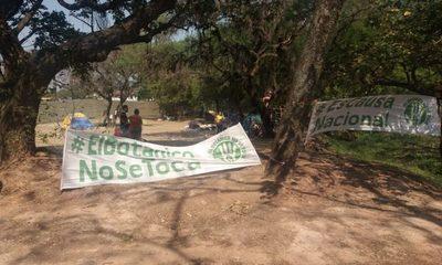 Defensores del Jardín Botánico denuncian represión policial