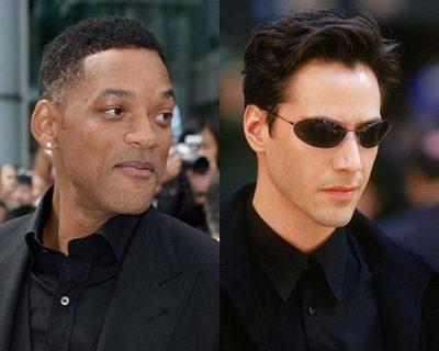Mirá la transformación de Will Smith en Neo de The Matrix