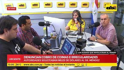 Audio 7: Caso de coimas e irregularidades en el Indert