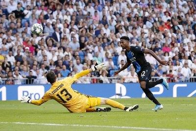 El Real Madrid no consigue despegar en Champions