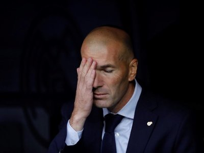 """Zidane: """"Me quedo con la reacción y el punto"""""""