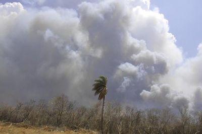 Chovoreca sigue en llamas