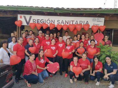 Conmemoran día mundial del corazón en Coronel Oviedo