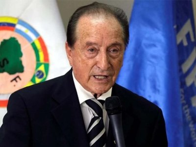 Eugenio Figueredo, expresidente de la CONMEBOL, inhabilitado de por vida
