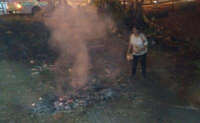 Municipalidad habilita número para denuncias por quema de basura