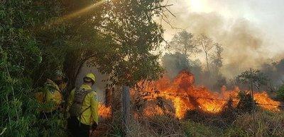 Notable trabajo altruista de los bomberos voluntarios