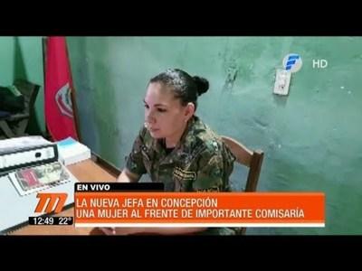 La nueva jefa en Concepción