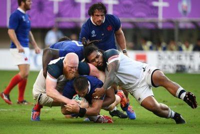 33-9. Francia derrota a EEUU y logra una posición cómoda en su grupo