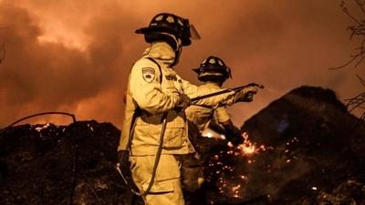 HOY / Alta sospecha que incendio de 30 hectáreas del Parque Guasú fue adrede: fiscal investiga