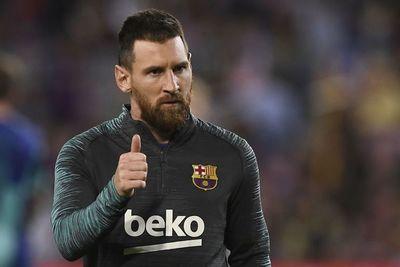 Messi niega problemas en el Barcelona