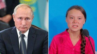 Putin critica a Greta: «Es una adolescente mal informada y utilizada por adultos»