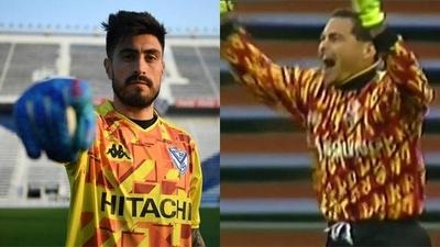 HOY / Vélez relanza una camiseta en homenaje a Chilavert