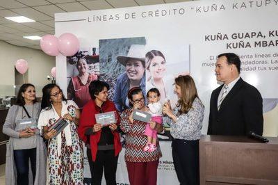 Cerca de 3.500 mujeres emprendieron negocios mediante los microcréditos Kuña Katupyry del BNF