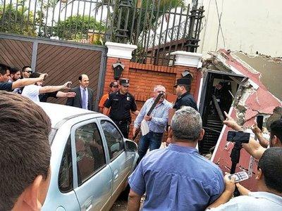 Zacarías Irún califica de ilegal y populista demolición de caseta