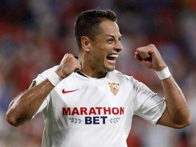 Chicharito, contento por su gol y el triunfo de su equipo