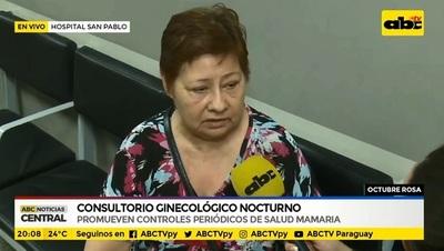 Hospital San Pablo habilita consulta ginecológica nocturna durante todo octubre