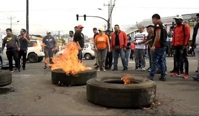 Estado de excepción en Ecuador: más de 200 detenidos y huelga indefinida en el segundo día de protestas