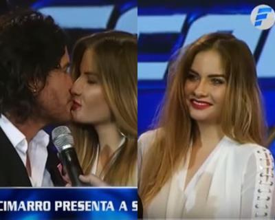Mario Cimarro presentó a su hermosa novia