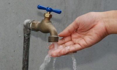 Anuncian cortes de agua en barrios de San Lorenzo