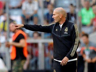 """Zidane defiende a Courtois: """"No es el único ni el principal responsable"""""""