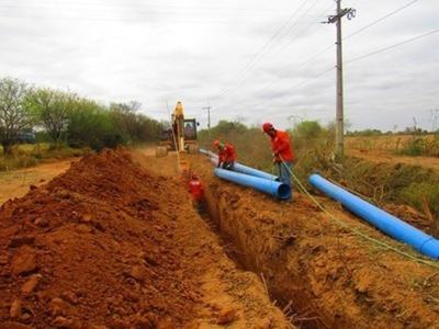 Acueducto: la esperanza del agua potable en el Chaco