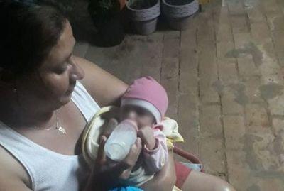 Encuentran a recién nacida en una casa deshabitada