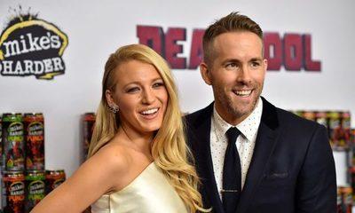 Blake Lively y Ryan Reynolds recibieron a su tercer hijo